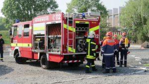 Feuerwehr Castrop-Rauxel auf Feuerwehr Übung 2018