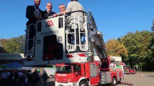 Feuerwehr Lübbecke bekommt neue Drehleiter