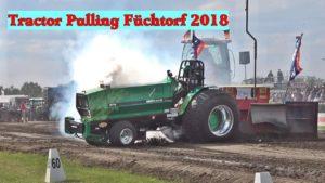 Feuerwehreinsatz der Feuerwehr Füchtorf beim Tractor Pulling Füchtorf