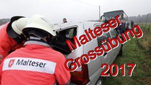 Malteser Hilfsdienst & Feuerwehr Hövelhof proben Ernstfall – Großübung 2017