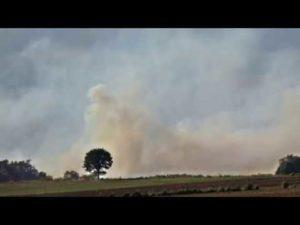 Moorbrand Meppen im Emsland – THW im Einsatz und Feuerwehr im Einsatz